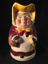 More details for vintage tony wood character jug betsy