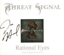 Threat Signal(Promo signed CD Single)Rational Eyes-Nuclear Blast-NB 168-New