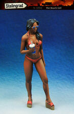 1/35 scale resin model kit de la plage fille #2