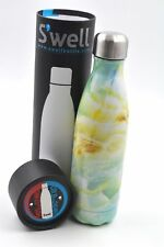 S'well Vacuum Insulated Stainless Steel Water Bottle 17 oz Opal Marble SWELL