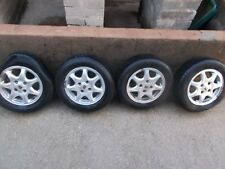USED & GENUINE ROVER 820 SI ALLOY WHEELS 195/65/R15 /  5Jx15CH / RACE RALLY