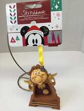 DISNEY 2018 Authentic COGSWORTH Christmas Holiday Ornament Beauty &The Beast NEW