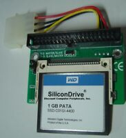 "1GB SSD Replace Vintage 3.5"" IDE Drives with this IDE 40 PIN MALE SSD Card"