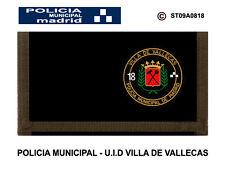 MONEDEROS POLICIALES: POLICIA MUNICIPAL DE MADRID / UID - DISTRITO V. VALLECAS