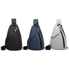Cross Body School Bag Chest Sling Men Nylon Shoulder Backpack Women Travel Bags