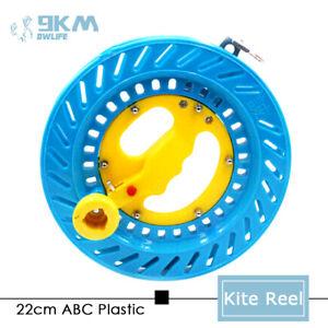 "8.7"" Kite Reel Ball Bearing Kite String Winder Lockable Kids Adults Beginner"