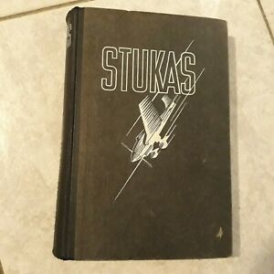 Livre STUKAS de Curt Strohmeyer, 1940