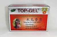 New Authentic TOP-GEL Original Papaya Whitening Soap 145 grams Fast USA Seller