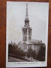 St Mary's Church, Upper st, Islington, near Camden Passage, Angel, R/Photo/Pc