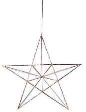 LED stella di Avvento METALLO Ø 38 NATALE CON 20 FILO STERN CROMO 70376