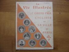 26 Juin 1903 LA VIE ILLUSTREE 245 GRAND PRIX DE PARIS CYCLISME BICYCLETTE