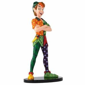 Disney Britto Peter Pan Collectors Resin Colourful Figurine - Boxed Enesco