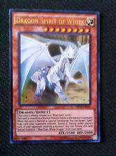 YUGIOH Esprit du dragon blanc SHVI-EN018 ultra rare