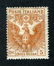 Italy, Scott #B3,  Italian Eagle & Arms of Savoy, 1915, Mint Hinged