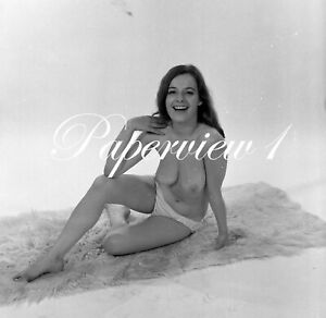 Vintage Harrison Marks Glamour Model Sally Dixon 6x6 Medium Format Negative H60
