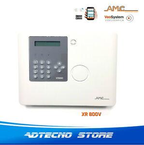 AMC Centrale Wireless XR800V con videoverifica 64 zone PSTN