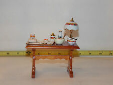 Reutter Table Jelly Roll Dollhouse Miniature Kitchen Shop Bakery RETIRED Prep