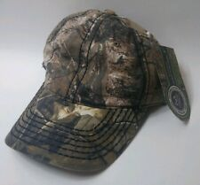 Realtree Xtra Green Camo Hat Baseball Cap Hunting Adjustable
