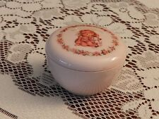 Vintage Hallmark Pink Decorated Trinket Gift Box 700Dsk1838