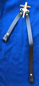 J.E.B. Stuart 1859 Patent Saber Hanger for Cavalry with Leather Straps