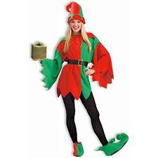 SANTA'S HELPER ELF Costume Christmas Fancy Dress