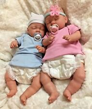 Reduced Price REBORN TWINS BABY Boy & Girl Child friendly doll cute Babies