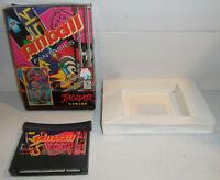 Atari Jaguar Game PINBALL FANTASIES Retro 64-Bit CART IN BOX Vintage TESTED!