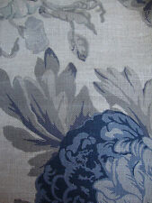Tessa Proudfoot for ST LEGER & VINEY Isabella linen curtain fabric remnant