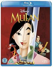 Mulan - UK Region B Blu Ray - Walt Disney