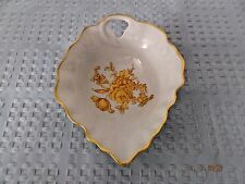 Limoges France Gold/White Handled Bowl