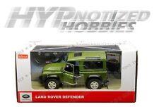 R/C RASTAR 1:14 LAND ROVER DEFENDER DIE-CAST GREEN 78400