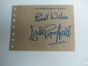 Dusty Springfield Signed Autograph Page 1965