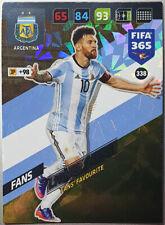 Panini Fifa 365 | Adrenalyn XL 2018 | Messi | Fans Favourite | Fans | #338