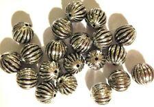 20 Pumpkin beads 15 x 9mm SK5