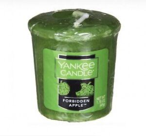 Yankee Forbidden Apple Votives X 2