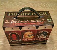 FRIGHT PACK  Devil Made Me Do It  6 Horror Films DVD Box Set Horror Movies