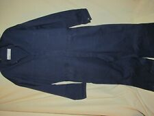 Perfect Brand Coveralls Size 48x24 Blue 100% Cotton Preowned
