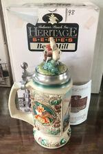 Anheuser Busch Heritage Series 1997 Bevo Mill Stein ~ NIB