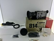 CANON 814XL-S electronic super 8 camera vintage WORKING TESTED VGC Boxed NOS