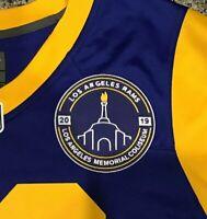 Final Game LA RAMS JERSEY PATCH LA LOS ANGELES MEMORIAL COLISEUM 2019 100th NFL