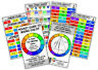 Paint Mixing Pocket Colour Guide -  Colour Mixing