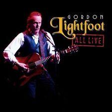 All Live by Gordon Lightfoot (CD, Apr-2012, Rhino (Label))