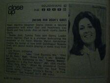 1969  TV Guide (THE MOD SQUAD/DEANA  MARTIN/PEGGY  LIPTON/DON   MURRAY/LIBERACE)