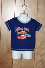 TODDLER BOY'S CARS SHORT SLEEVE SHIRT-SIZE: 24M
