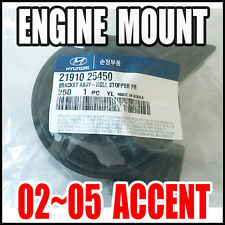 Hyundai Accent 02-05 1.6L Engine Mount Front Automatic Transmission  21910-25450