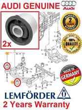 # 2x LEMFORDER AUDI A6 C6 4F ALLROAD FRONT SUBFRAME FRONT BUSH BUSHING KIT SET
