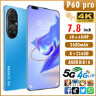 """New 2021 7.8"""" Smart Phone 5g Android 10 8g+256g 10 Core Dual Sim Wifi Unlocked"""