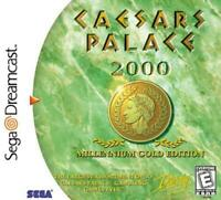 Caesars Palace 2000 Sega Dreamcast Game Used