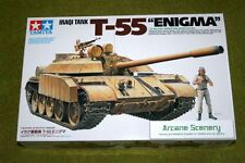"TAMIYA irakien Tank T-55 ""ENIGMA"" Échelle 1/35 Kit 35324 D"
