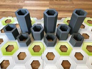 statt GraviTrax Höhensteine9 Säulen in den Höhen 30,50,100 mm - neue Version